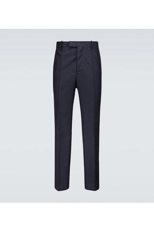 OAMC Men Formal Pants - Bleach virgin wool pants