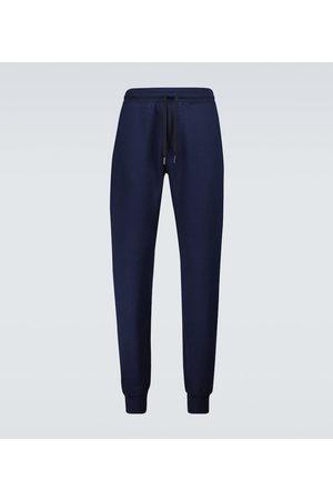 Tom Ford Men Joggers - Cotton-cashmere sweatpants