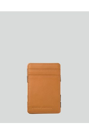 Status Anxiety Men Wallets - Flip Wallet - Wallets (Tan) Flip Wallet