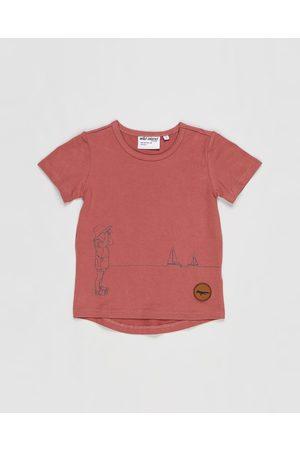 Wild Island Tops - The Sea Spy Tee Babies Kids - T-Shirts & Singlets (Mulberry Sorbet) The Sea Spy Tee - Babies-Kids