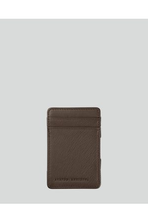 Status Anxiety Flip Wallet - Wallets (Chocolate) Flip Wallet