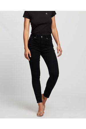 Calvin Klein Women Boyfriend - Core High Rise Skinny Jeans - High-Waisted Core High Rise Skinny Jeans