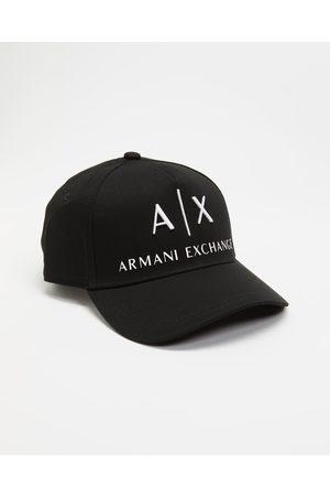 Armani Men Caps - Logo Baseball Cap - Headwear Logo Baseball Cap
