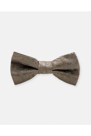 Buckle Men Neckties - Paisley Bow Tie - Ties & Cufflinks (Dark ) Paisley Bow Tie