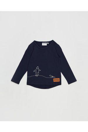 Wild Island Tops - The Wanderer Top Babies Kids - T-Shirts & Singlets (Night Sky Navy) The Wanderer Top - Babies-Kids