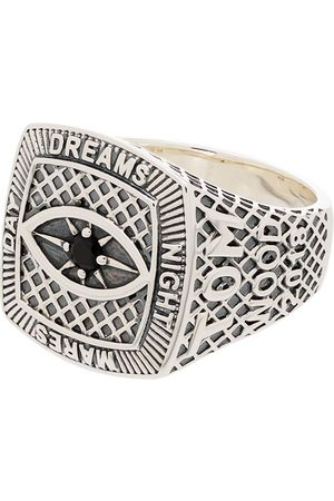 TOM WOOD Sterling Championship signet ring