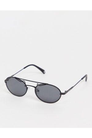 Polaroid Mini lens unisex sunglasses-Black