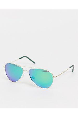 Polaroid Aviator style unisex sunglasses-Blue