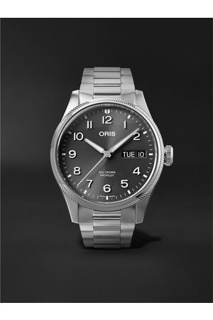 Oris Men Watches - Big Crown ProPilot Big Day Date Automatic 44mm Stainless Steel Watch, Ref. No. 01 752 7760 4063-07 8 22 08P