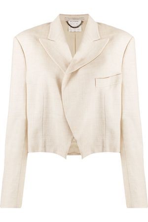 Stella McCartney Peak-lapel cropped jacket