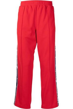 Ports V Side stripe-detail track pants
