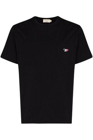 Maison Kitsuné Tricolour Fox patch T-shirt