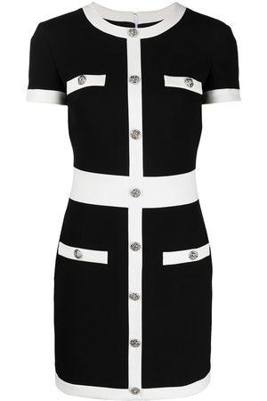 Philipp Plein Contrast-trim mini dress