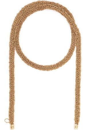 EMANUELE BICOCCHI Crocheted tie necklace