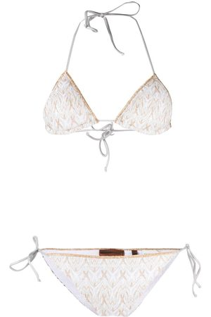 Missoni Women Bikinis - Metallic threading bikini set