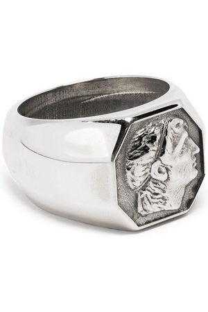EMANUELE BICOCCHI Coin signet ring