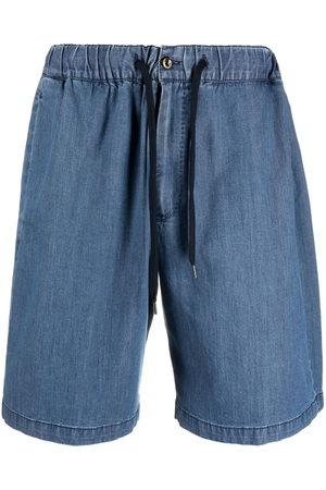 PT01 Men Bermudas - Drawstring-waist denim shorts