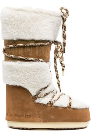 Moon Boot Women Snow Boots - Icon shearling snow boots