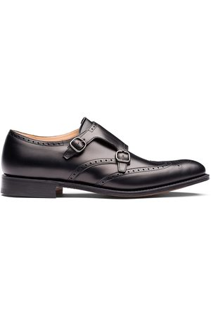 Church's Chicago punch-hole monk shoes