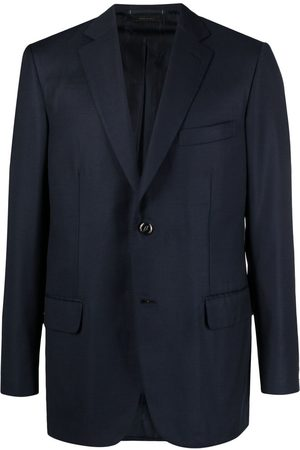 BRIONI Fitted single-breasted blazer