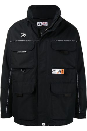 AAPE BY A BATHING APE Padded patch-pocket jacket