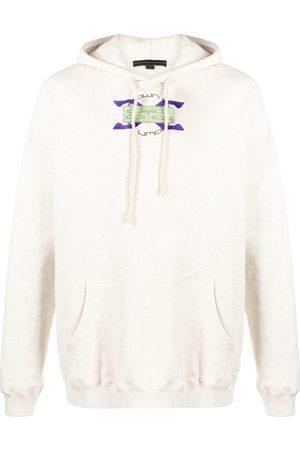 SANKUANZ Hoodies - Logo-print cotton hoodie