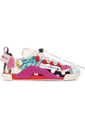 Dolce & Gabbana NS1 multi-patch low-top sneakers