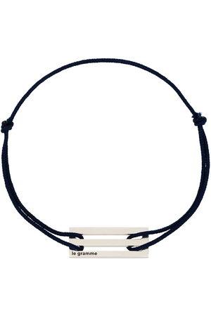 Le Gramme Men Bracelets - Le 2.5g cord bracelet
