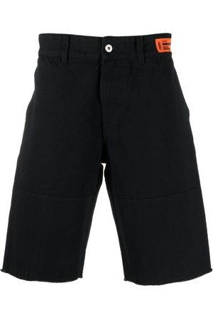 Heron Preston Logo patch Bermuda shorts