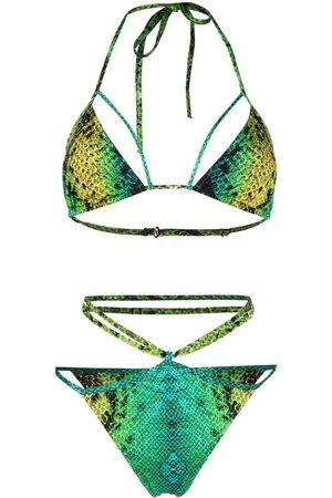 Noire Swimwear Snake-print Isla bikini