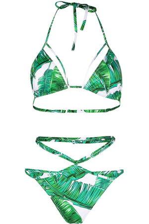 Noire Swimwear Women Bikinis - Jungle-print Isla bikini