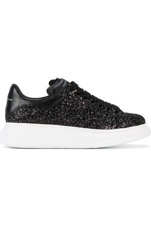 Alexander McQueen Women Platform Sneakers - Glitter Platform Sneakers