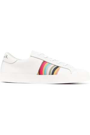 Paul Smith Signature-stripe leather sneakers