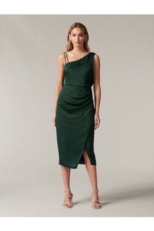 Forever New Women Midi Dresses - Nikki Strappy Drape Back Midi Dress