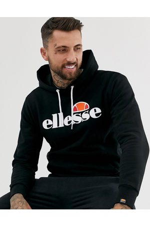 Ellesse Gottero hoodie with classic logo in black