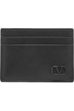 VALENTINO Leather Go Logo Card Holder