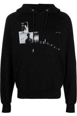 HELIOT EMIL Graphic-print hoodie