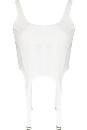 DION LEE Panelled corset top
