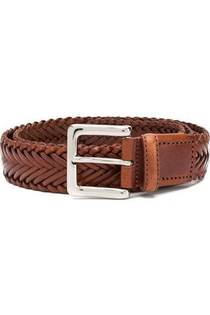 Scarosso Men Belts - Braided casual belt