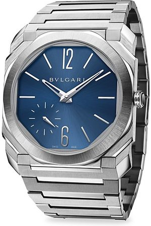 Bvlgari Watches - Octo Finissimo Extra-Thin Satin-Polished Steel Bracelet Watch