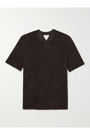 Bottega Veneta Slim-Fit Cotton-Blend Terry T-Shirt
