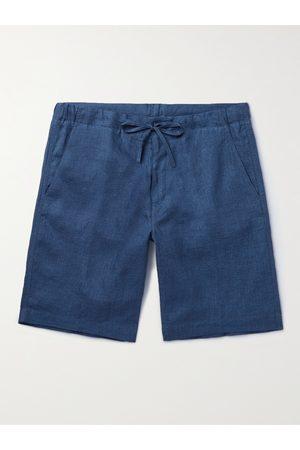 Loro Piana Slim-Fit Linen Drawstring Shorts