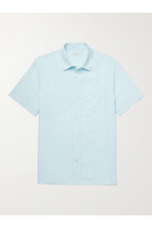 Loro Piana Men Short sleeves - Linen Shirt
