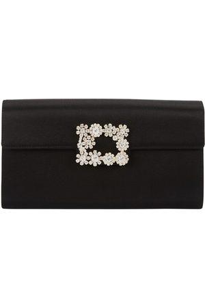 Roger Vivier Women Shoulder Bags - Envelope flower buckle bag