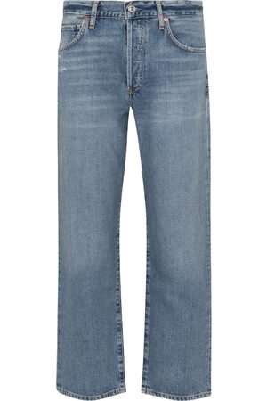 Citizens of Humanity Emery Crop high-rise straight jeans