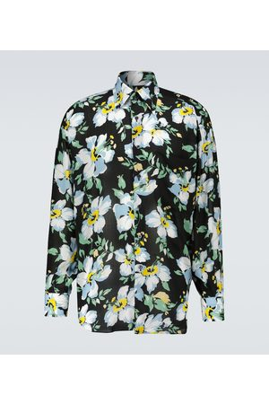 Tom Ford Men Casual - Oversized printed shirt