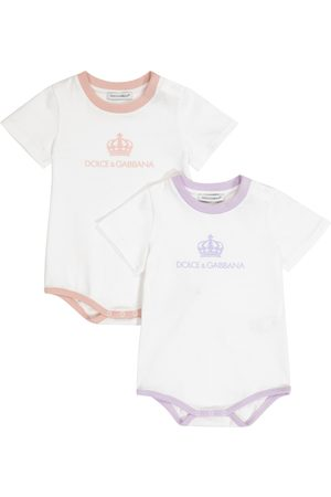 Dolce & Gabbana Sets - Baby set of 2 cotton playsuits