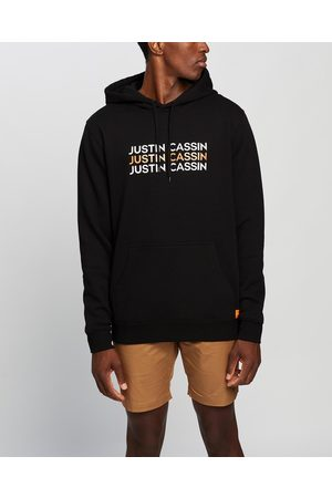 Justin Cassin Solid Logo Pullover Hoodie - Hoodies Solid Logo Pullover Hoodie