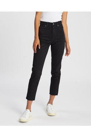 Dr Denim Nora Jeans - High-Waisted (Washed Stretch) Nora Jeans
