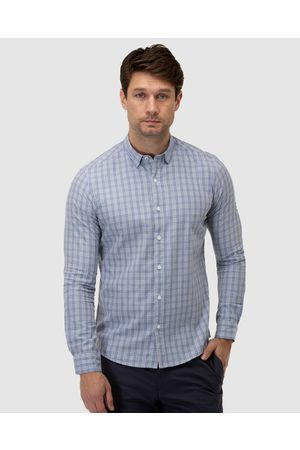 BROOKSFIELD Men Casual - Brushed Plaid Check Casual Shirt - Casual shirts Brushed Plaid Check Casual Shirt